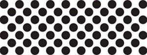 .25in Black Camera Dots Webcam Lens And LED Light Cover Private Sticker