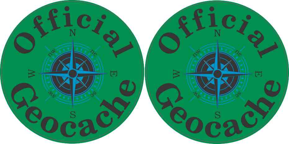 Official Geocache Stickers