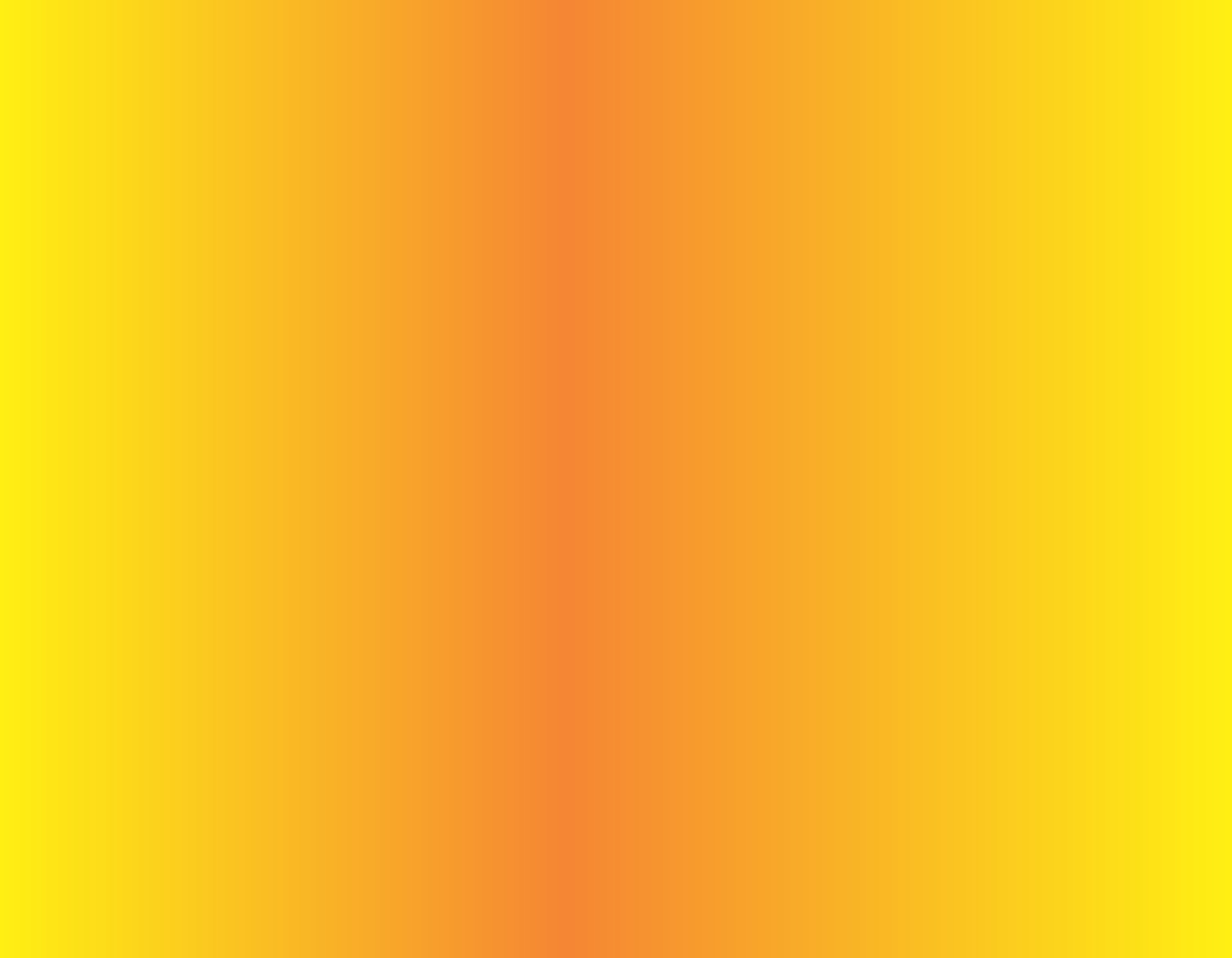 9in X 7in Orange And Yellow Sunset Fade Vinyl Sheet