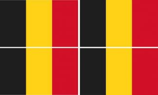 belgium flag bumper sticker