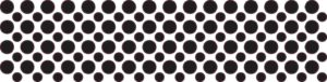 128x Black Camera Dots Webcam Cover