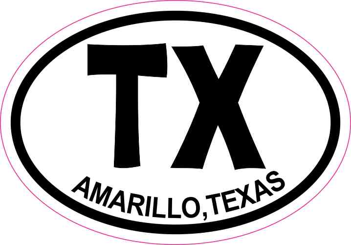 Amarillo Texas Sticker