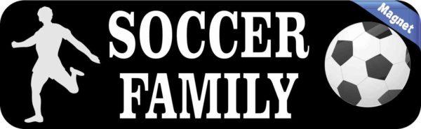 Soccer Family Magnet