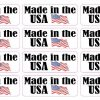 Made in the USA Stickers