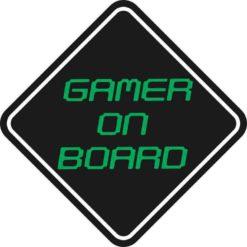 Gamer On Board Magnet