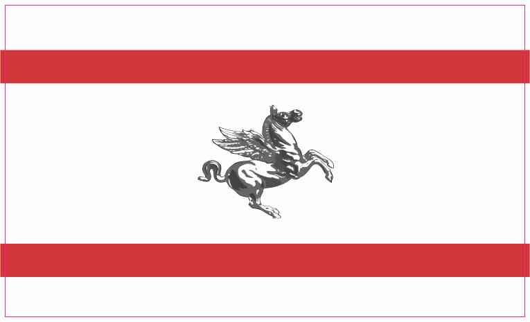 Tuscany Flag Magnet
