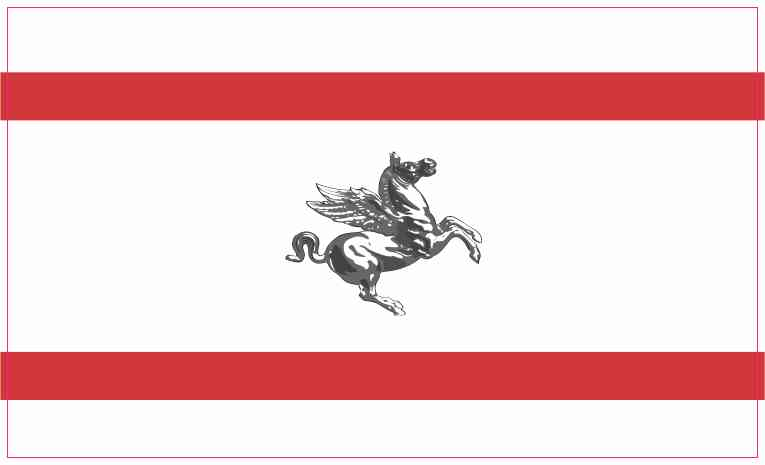 Tuscany Flag Sticker