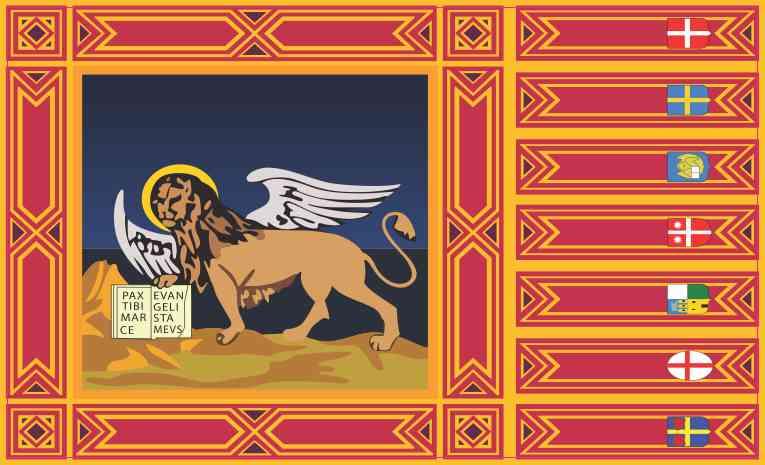 Veneto Flag Sticker