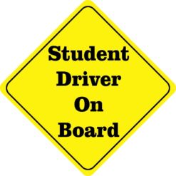 Student Driver On Board Magnet