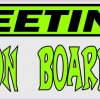 Aliens on Board Bumper Sticker
