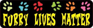 Furry Lives Matter Magnet