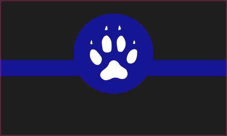 Canine Blue Lives Matter Magnet