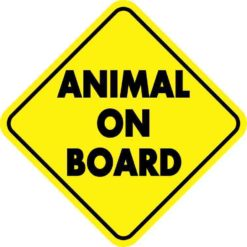 Animal On Board Sticker