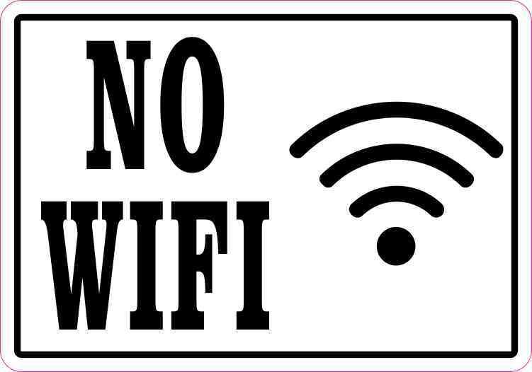 No WiFi Magnet