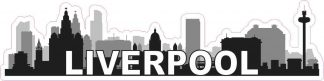 Liverpool Skyline Sticker
