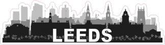 Leeds Skyline Sticker