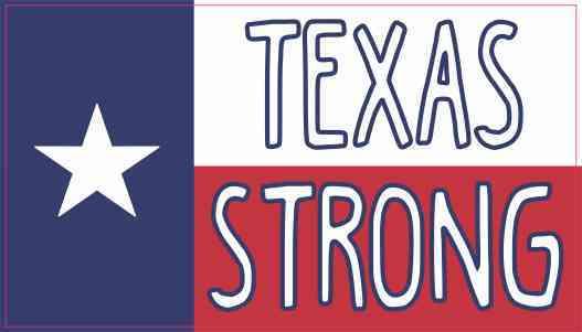 Texan Flag Texas Strong Magnet