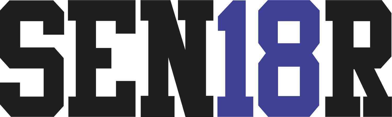 Blue SEN18R Sticker