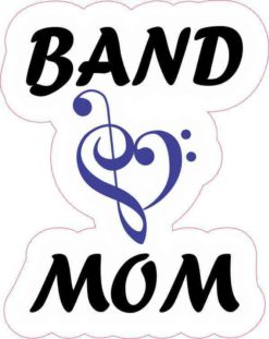 Blue Band Mom Sticker