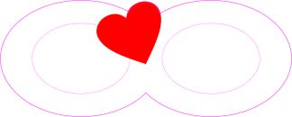 Heart Infinity Symbol Sticker