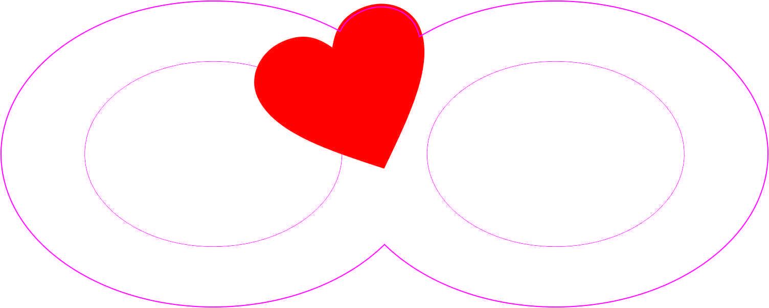 Heart Infinity Symbol Sticker