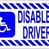 Disabled Driver Magnet