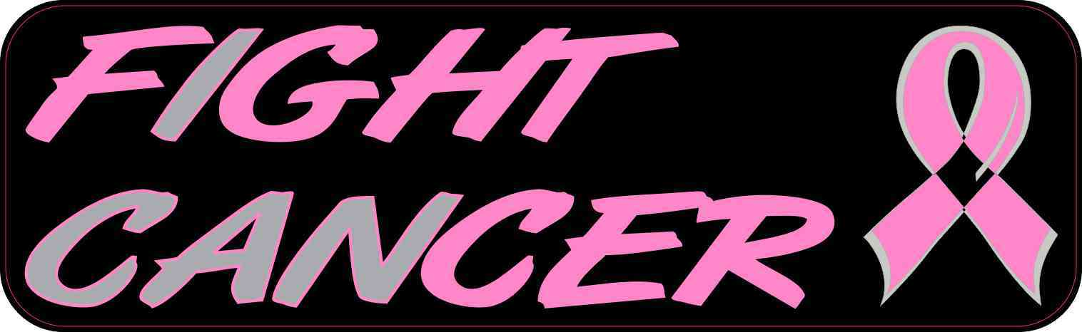 I Can Fight Cancer Bumper Sticker