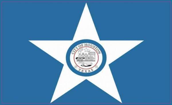 Houston Texas Flag Magnet