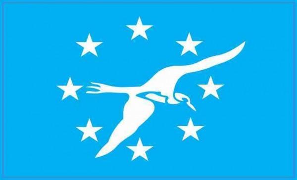 Corpus Christi Texas Flag Sticker