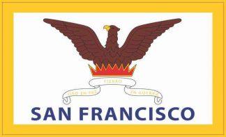 San Francisco California Flag Magnet