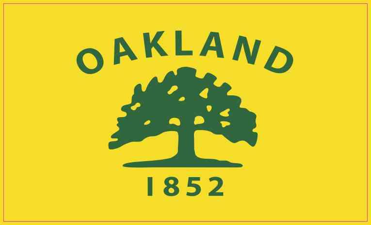 Oakland California Flag Magnet
