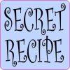 Periwinkle Secret Recipe Magnet