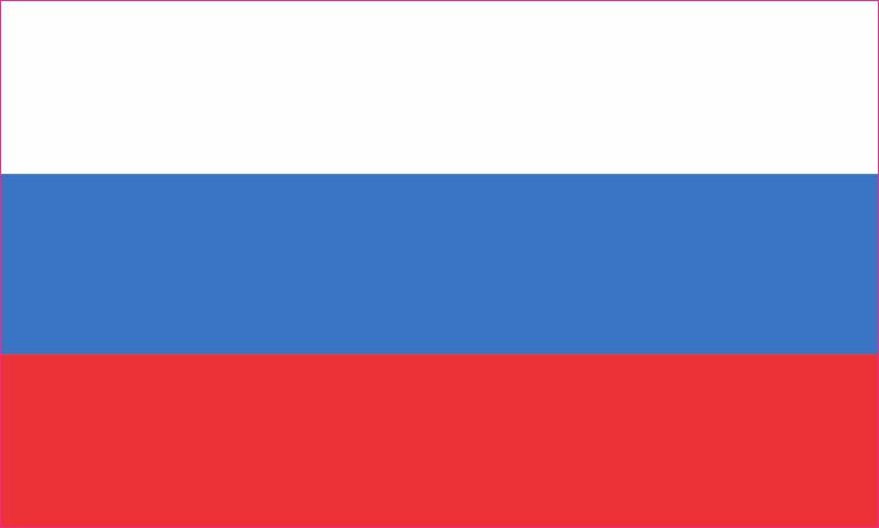 Russian Flag Magnet