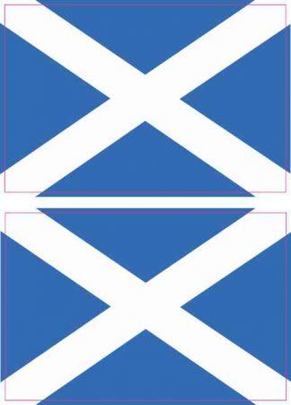 Scottish Flag Magnets