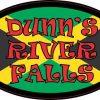 Oval Jamaican Flag Dunn's River Falls Sticker