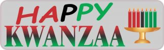 Happy Kwanzaa Bumper Sticker