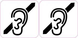 Deaf Symbol Magnets