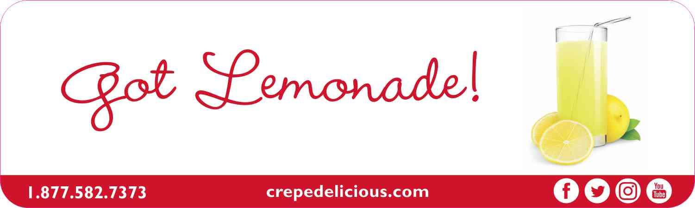 Got Lemonade! - Crepe Delicious