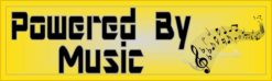 Powered By Music Sticker