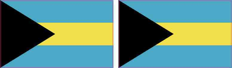 Bahamas Flag Magnets