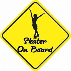 Skater On Board Magnet
