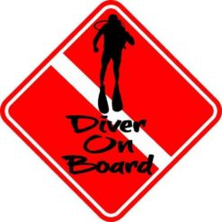 Diver On Board Magnet