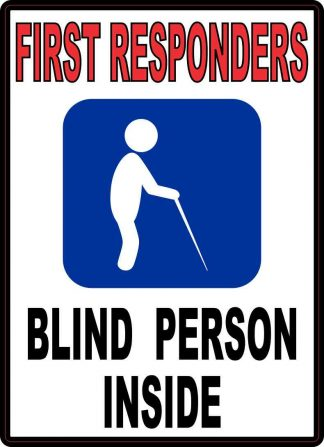 Blind Person Inside Magnet