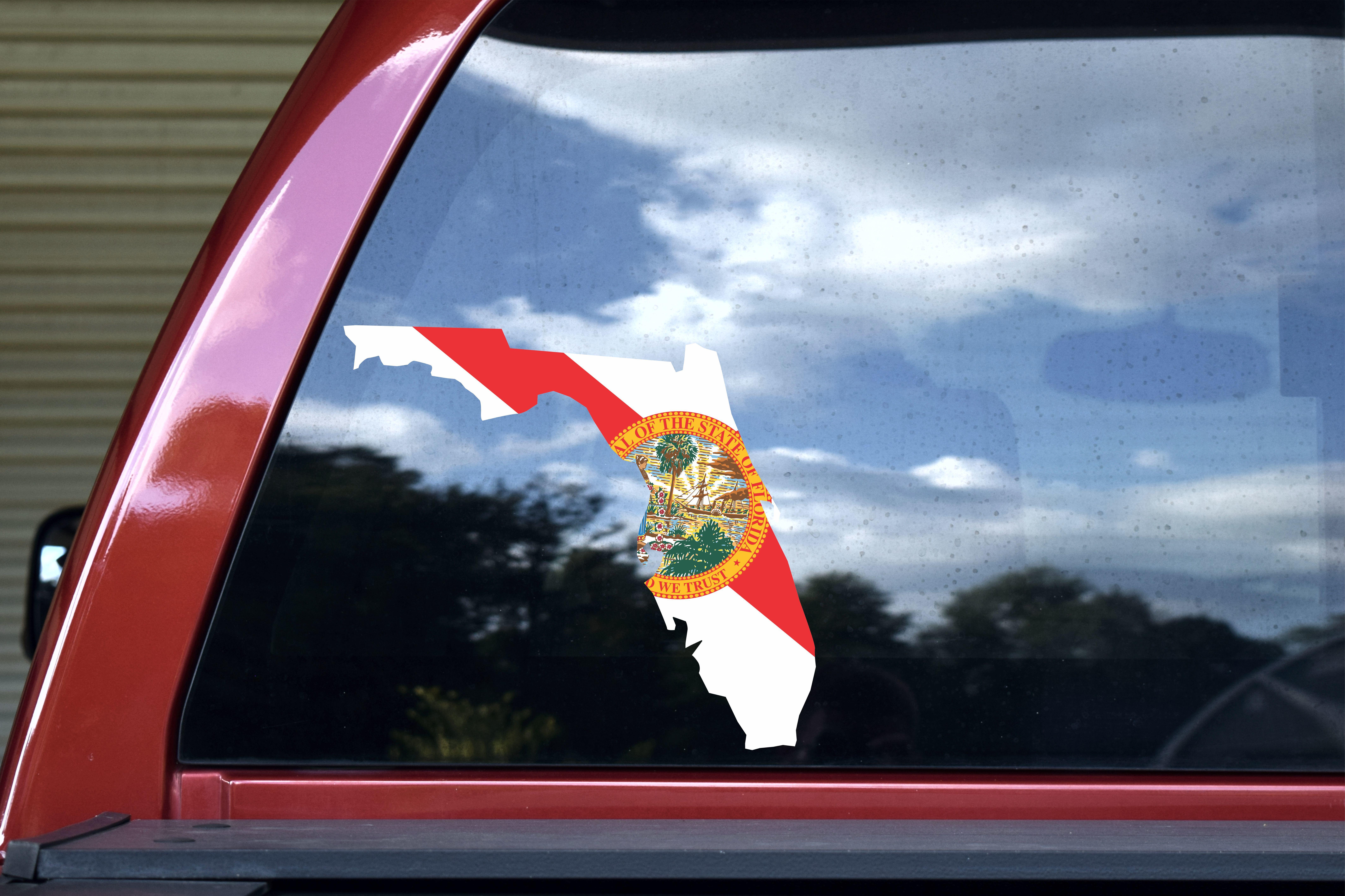 Die Cut Florida Sticker