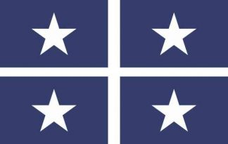 Bonnie Blue Flag Stickers