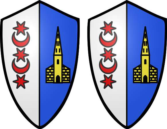 Montreaux Coat of Arms Stickers