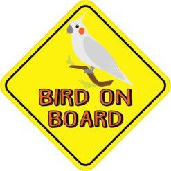 Bird On Board Sticker