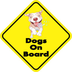 Dogs On Board Magnet