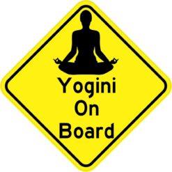 Yogini On Board Magnet