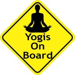 Yogis On Board Magnet